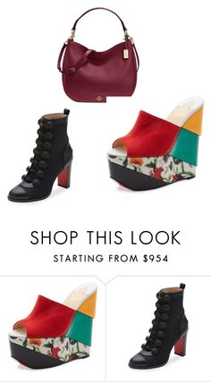 """""""Macy's"""" by betty-jean on Polyvore featuring Christian Louboutin"""