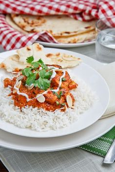 Chicken Makhani. One of my favorite dishes at Indian restaurants, but there are so many ingredients!! Someday...