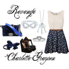 Charlotte Grayson, created by dingoesatemybaby on Polyvore