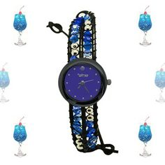 Blue Lagoon Bracelet Watch now featured on Fab.
