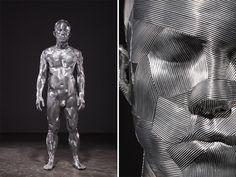 Por Amor al Arte: Meticulosas esculturas de alambre de aluminio por Seung Mo.