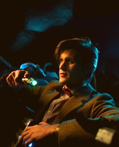 The 11th Doctor (Matt Smith) breaking out of the Pandorica. ♡♡