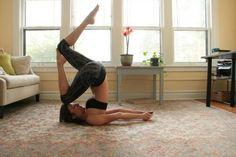 Hard yoga.