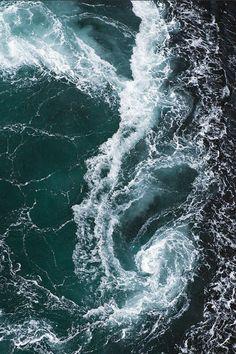 wonderous-world: Saltstraumen Whirlpool: Bodø, Norway by Magnus Lundgren