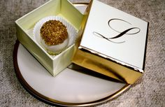 A perfect formal wedding favor - CoCo Cake Dots