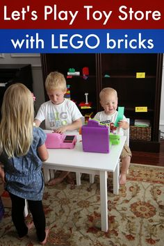 Toddler Approved!: Pretend Play Toy Store with LEGO Bricks