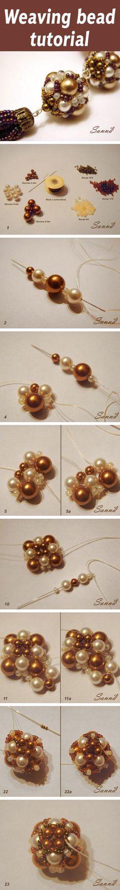 Weaving bead tutorial