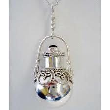 Shop for Perfume Bottle Sterling Silver Pendent (Indonesia). Get free delivery On EVERYTHING* Overstock - Your Online Jewelry Destination! Lalique Perfume Bottle, Antique Perfume Bottles, Vintage Bottles, Vanilla Perfume, Fru Fru, Perfume And Cologne, Beautiful Perfume, Vintage Jewelry, Metal Jewelry