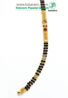 Check out the deal on Mangalsutra Chain in Gold of Length inches at Totaram Jewelers: Buy Indian Gold jewelry & Diamond jewelry Diamond Jewelry, Gold Jewelry, Beaded Jewelry, India Jewelry, Jewellery, Gold Mangalsutra Designs, Black Rings, Jewelry Patterns, Gold Bangles