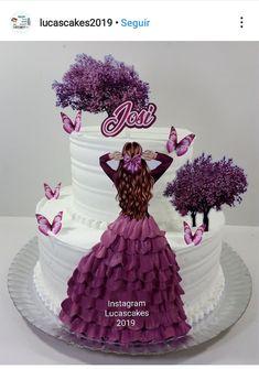 Candy Birthday Cakes, Elegant Birthday Cakes, Beautiful Birthday Cakes, Birthday Cake Girls, Birthday Cake Toppers, Beautiful Cakes, Cake Decorating Frosting, Creative Cake Decorating, Cake Decorating Videos