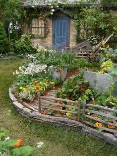 Pretty Allotment Garden