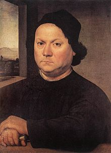 Raffaello o Lorenzo di Credi, Ritratto del Perugino, Uffizi