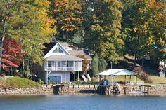 beautiful home beautiful lake