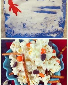 Snow Day Activities and Snowman snacks