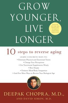 In Grow Younger, Live Longe r, Deepak Chopra, a pioneer in mind/body medicine, applies his decades of research and knowledge to actually reverse the aging process. This simple and practical step-by-st