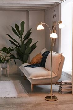 Urban Outfitters Freda Trio Floor Lamp - All For Decoration Contemporary Floor Lamps, Modern Floor Lamps, Modern Table, Modern Decor, Home Interior, Interior Decorating, Interior Design, Decorating Games, Decorating Websites