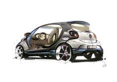 smart fourjoy Designskizzen im Fokus