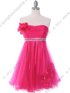 Hot Pink Homecoming Dress | Sung Boutique L.A.