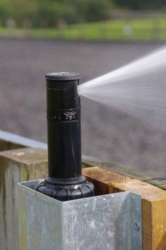 Arena sprinkler idea