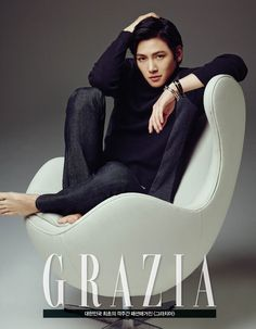 """Actor Ji Chang Wook transformed into a chic man. Actor Ji Chang Wook transformed into a chic man. In the recent photo shoot of fashion magazine, """"Grazia"""" Ji Chang Wook showed a sexy and good looking charisma of a model man. Korean Star, Korean Men, Korean Wave, Most Handsome Korean Actors, Dramas, Ji Chang Wook Photoshoot, Ji Chang Wook Healer, Ji Chan Wook, Park Hyung"""