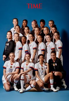 The U.S. Women's Soccer Team Is TIME's 2019 Athlete of the Year