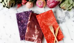Thankgiving table decor - Fun napkins to DIY  lifestyle