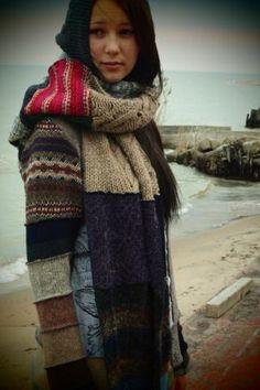 susan harris toronto designer, bulk warmth.  Interesting!! And easy with a serger.