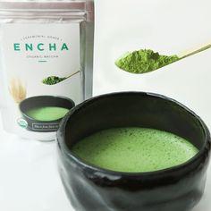 Organic Matcha for Making Almond, Coconut Matcha Latte – Encha