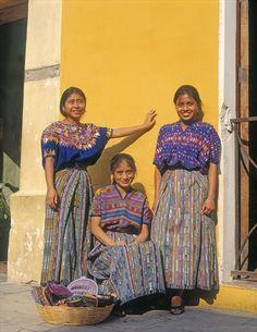 Three Guatemalan ladies