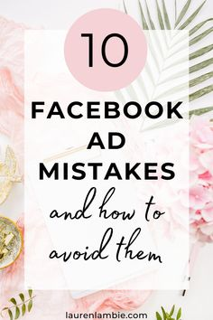 Wait! Before you run an expensive Facebook ad campaign, read this first. It sets out the 10 biggest mistakes that small businesses make when running ads - mistakes that cost time and money - and outlines exactly how to avoid them