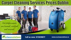 Eco Clean Solutions offers professional carpet cleaning anywhere in Dublin. Using only child & pet-friendly cleaning detergents.