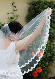 Hey, I found this really awesome Etsy listing at https://www.etsy.com/listing/234326812/off-white-lace-wedding-veil-venice-lace