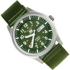 Sports Watch Store - Seiko 5 automatic military watch SNZG09K1 SNZG09, $92.00 (https://www.sports-watch-store.com/snzg09k1)