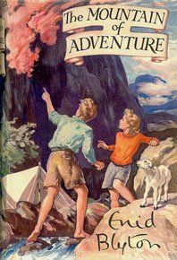 From the Enid Blyton 'Adventure' series. My favourite series. When I was 10 the nuns at the convent banned Blyton and I organised civil unrest! They were reacting to the current criticism of the author's verbal and descriptive poverty. Now I agree, then it was a tragedy.