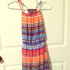 Aztec short dress Open sides worn once great condition Dresses Midi