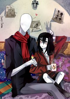 slenderman y jeff the killer  danny chama