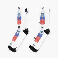 'Putin Vodka Cheeki Breeki ' Socks by xtraedge My Socks, Crew Socks, Designer Socks, Chiffon Tops, Vodka, Looks Great, Printed, Awesome, Stuff To Buy