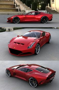 Ferrari 612 GTO. Anything in red is a yes for me :)