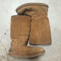 e52e9e888fa Ugg tall chestnut size 9 boots Size 9 authentic uggs chestnut color ...