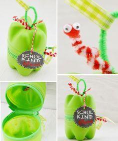 DIY: Apfel Box für die Schule