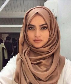 She's so beautiful! I can pull off this hijab like a boss, but I will never have this kind of face. I'm still beautiful though...I know that. In the world, there are different types of beauty, and that's nothing to be ashamed of.