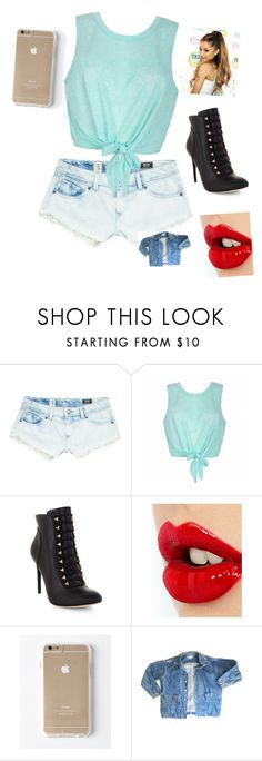 """""""Untitled #38"""" by itsyofavbabymaci ❤ liked on Polyvore featuring Volcom, Ally Fashion, BCBGMAXAZRIA, Charlotte Tilbury and GUESS"""