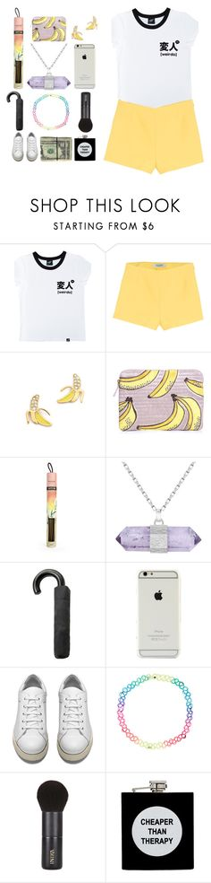 """484. why'm i not scared in the morning? i don't hear those voices calling."" by the-prism ❤ liked on Polyvore featuring Illustrated People, Valentino, Kate Spade, Lizzie Fortunato, Juniper Ridge, Sarah Kosta, MANGO, Acne Studios, Accessorize and INIKA"