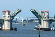 The Bridge of Lions Is Open fron Florida History Illustrations facebook/ Galleries