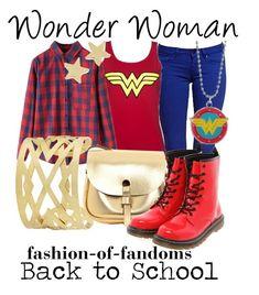 """Wonder Woman"" by fofandoms ❤ liked on Polyvore"