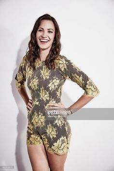 Actress Kristen Gutoskie of 'Containment' poses for a portrait at the Getty Images Portrait Studio Powered By Samsung Galaxy At Comic-Con International 2015 at Hard Rock Hotel San Diego on July 11, 2015 in San Diego, California.