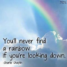 keep looking up ...