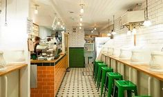 10 budget places to eat in London. (Attendant cafe-restaurant)