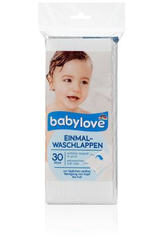 babylove Einmal-Waschlappen
