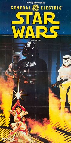 I like the vintage look of a lot of these Star Wars posters.
